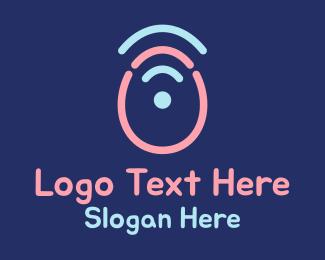 Childrens Party - Easter Egg Signal logo design