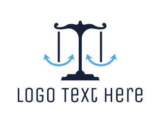 Coast Guard - Blue Anchor Justice logo design