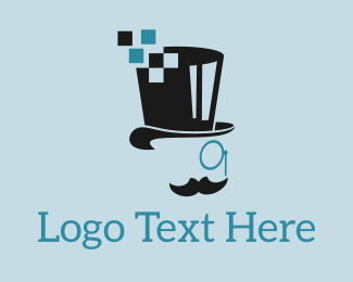 Beard - Pixel Mister logo design