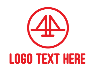 Golden Gate - Bridge Number 4 logo design
