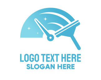 Speed - Speed Cleaning Squeegee logo design