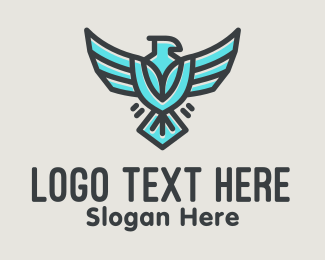 Marine Corp - Flying Eagle Airline logo design