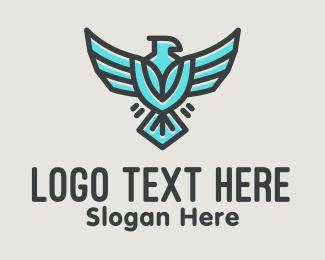 American Eagle - Flying Eagle Airline logo design