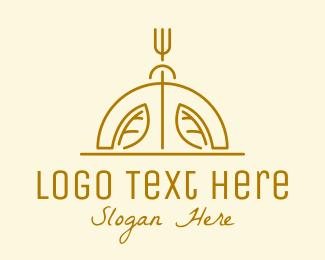 Diet - Organic Vegetarian Restaurant logo design