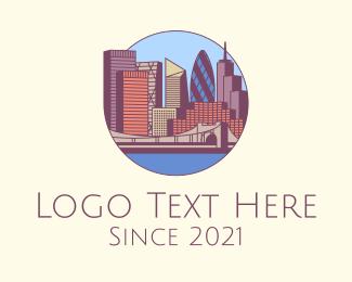 Establishments - London City Skyline logo design