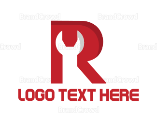 Autoshop - Wrench & Letter logo design