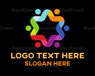 Diversity - Star Group Connection logo design