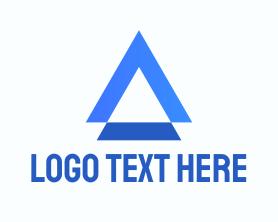 Company - Triangle Organization Letter A logo design
