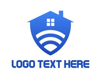 Smart Home - Safe Smart Home logo design