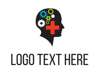 Cogs - Mental Health logo design
