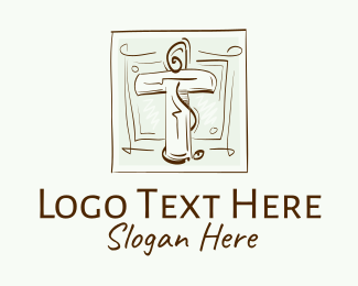 Christian - Vintage Christian Church logo design