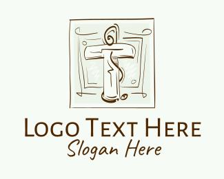 Church - Vintage Christian Church logo design
