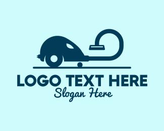 Hose - Vacuum Cleaner Hose  logo design