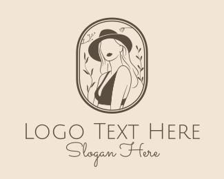 Stylist - Woman Stylist Fashion logo design