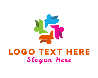 Foundations - Human Group logo design