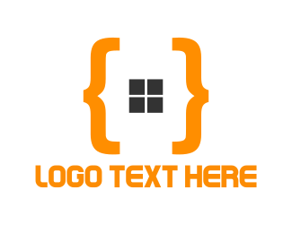 Coding - Orange Code logo design