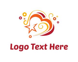 Swirl - Heart & Swirls logo design