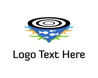 Target - Fishing Target  logo design