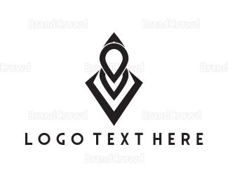 Hip Hop - Black Hood logo design
