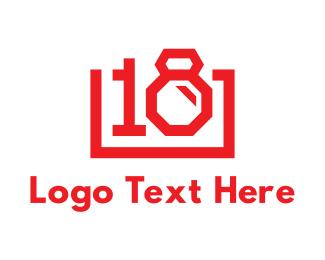 Number 1 - 18 Photography logo design