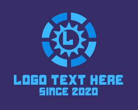 Automation - Industrial Gear logo design