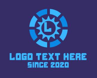 Machinery - Industrial Gear logo design