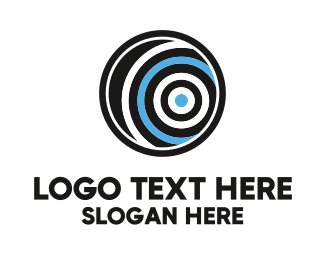 Hypnotherapy - Hypnotic Circle logo design