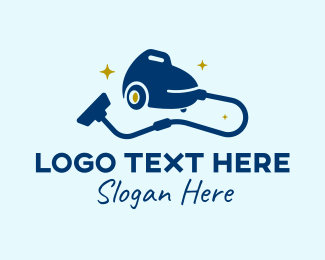Cleaning - Cleaning Hoover  logo design