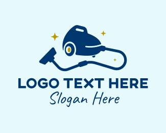 Cleaning - Cleaning Vacuum logo design
