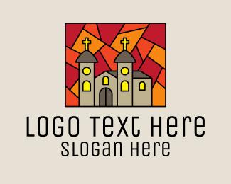 Religious - Religious Church Mosaic logo design