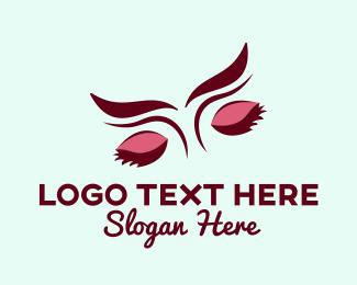 Lash Artist - Pretty Eyebrow Salon logo design