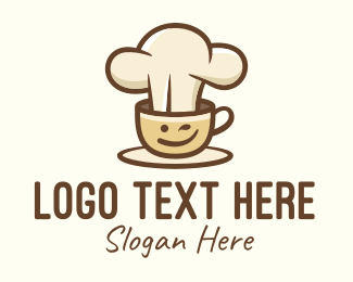 Coffee Delivery - Brewed Coffee Chef logo design