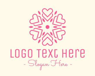 Pretty - Modern Heart Symbol logo design