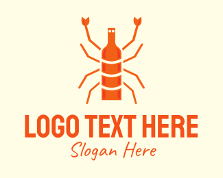 Talent Show - Orange Lobster Cuisine  logo design