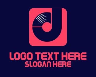 DJ Vinyl App Logo