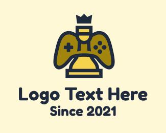 Chess - King Chess Game  logo design