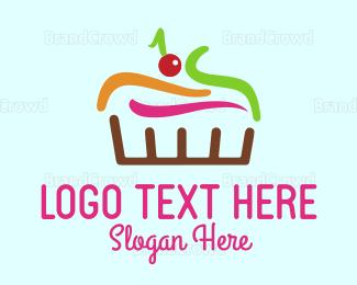 Confectionary - Colorful Cake logo design