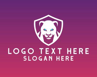 Shield - Panther Shield logo design