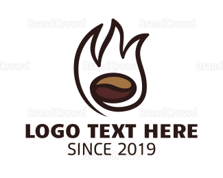 Brewery - Fire Coffee Brewery logo design