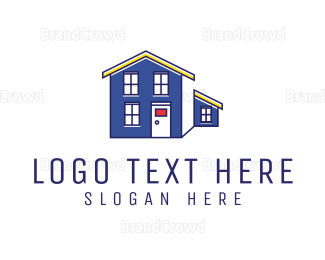 Architect - Blue Property  logo design