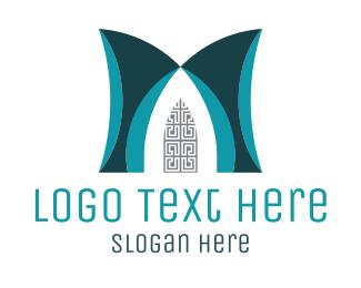 Art Gallery - Art Deco Door logo design