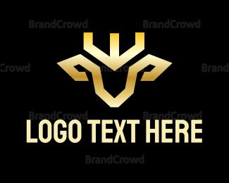 King - King Deer  logo design