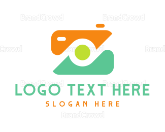 Photographer - Abstract Digital Camera logo design