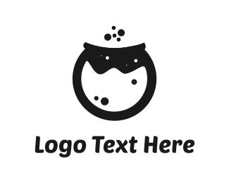 Honey - Black Pot logo design