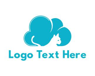 Cat Cloud Logo