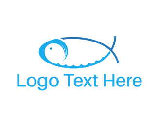 Water Fish Logo