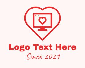 Date - Online Dating App logo design