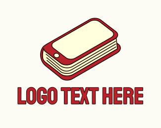 Social Media - Mobile Phone Book logo design