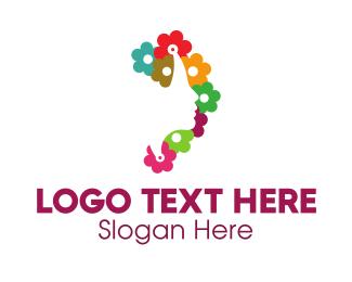 Beauty - Colorful Floral Beauty logo design