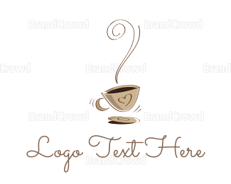 Cafe - Hot Coffee Cafe logo design